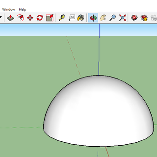 How to Create a Dome in Sketchup