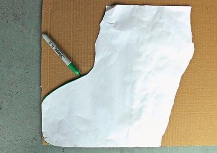 Copy the Contour to a Piece of Cardboard