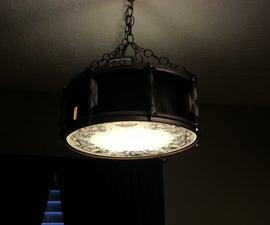 Snare Drum Swag Lamp