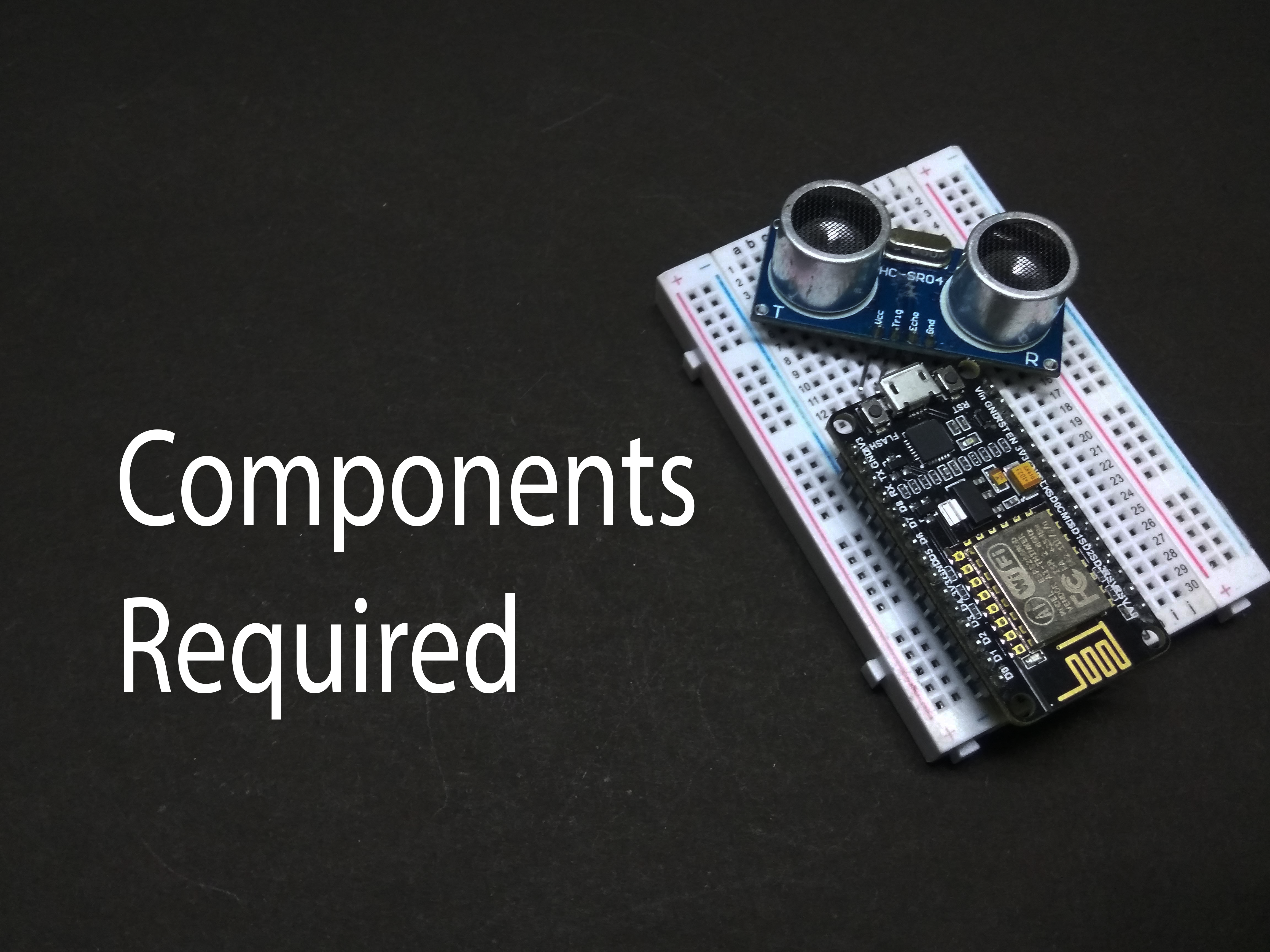 Picture of Components Reuired: