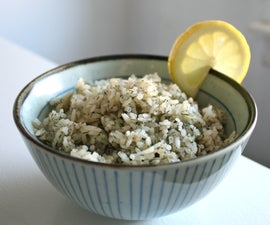 simple dill rice