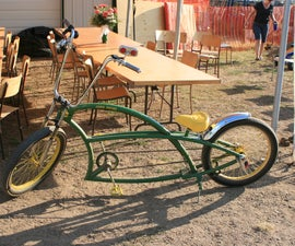Home Built Low Rider Bike