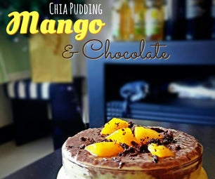 Dairy-Free: Fresh Mango Chocolate Chia Parfait