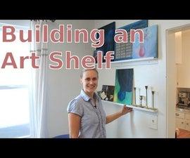 DIY Art Shelf