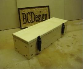 Pallet Wood & Dowel Corner Gift Box