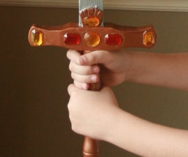 How to Make Four (Awesome) Wooden Swords From a Single 2X4