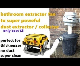 Dust Extractor From Bathroom Exhaust Fan Super Cheap