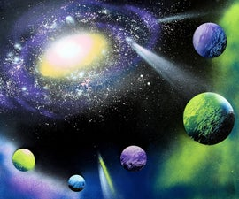 Paint a Galaxy in 30 Minutes