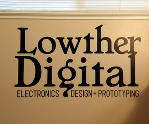 DIY: Personalize Your Workroom | Vinyl Logo Design