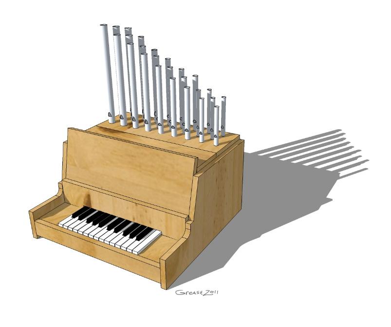 Picture of Mini-Calliope Organ
