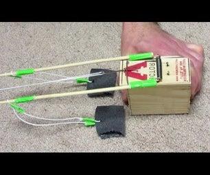 Mousetrap Powered DOUBLE Trebuchet