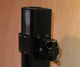 Make a workbench fan from an old microwave oven exhaust fan