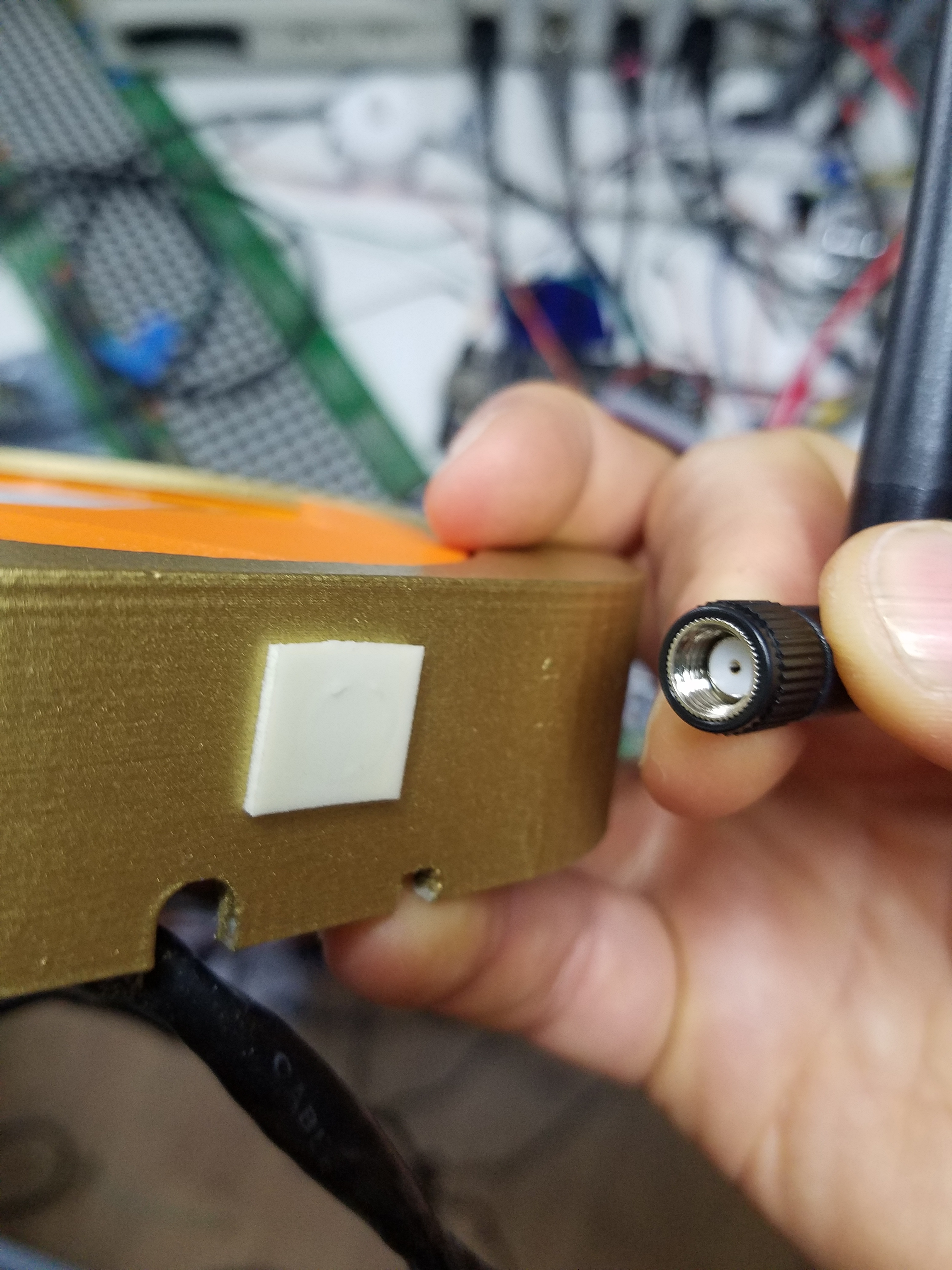 Picture of Attach an Antenna
