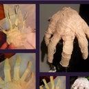 Make Your Own Mummy Hand