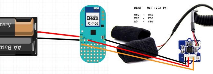 Soldering GSR Sensor to LightBlue Bean
