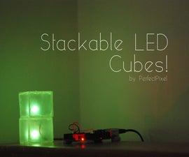 Stackable LED Cubes!