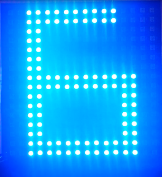 Picture of Wifi Controlled LED Display