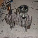 Blender-wacker, A gas powered blender with electric start.