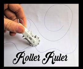 Geneva Roller Ruler, a Pocket Sized Infinite Ruler