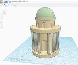 Roman Dome With Column