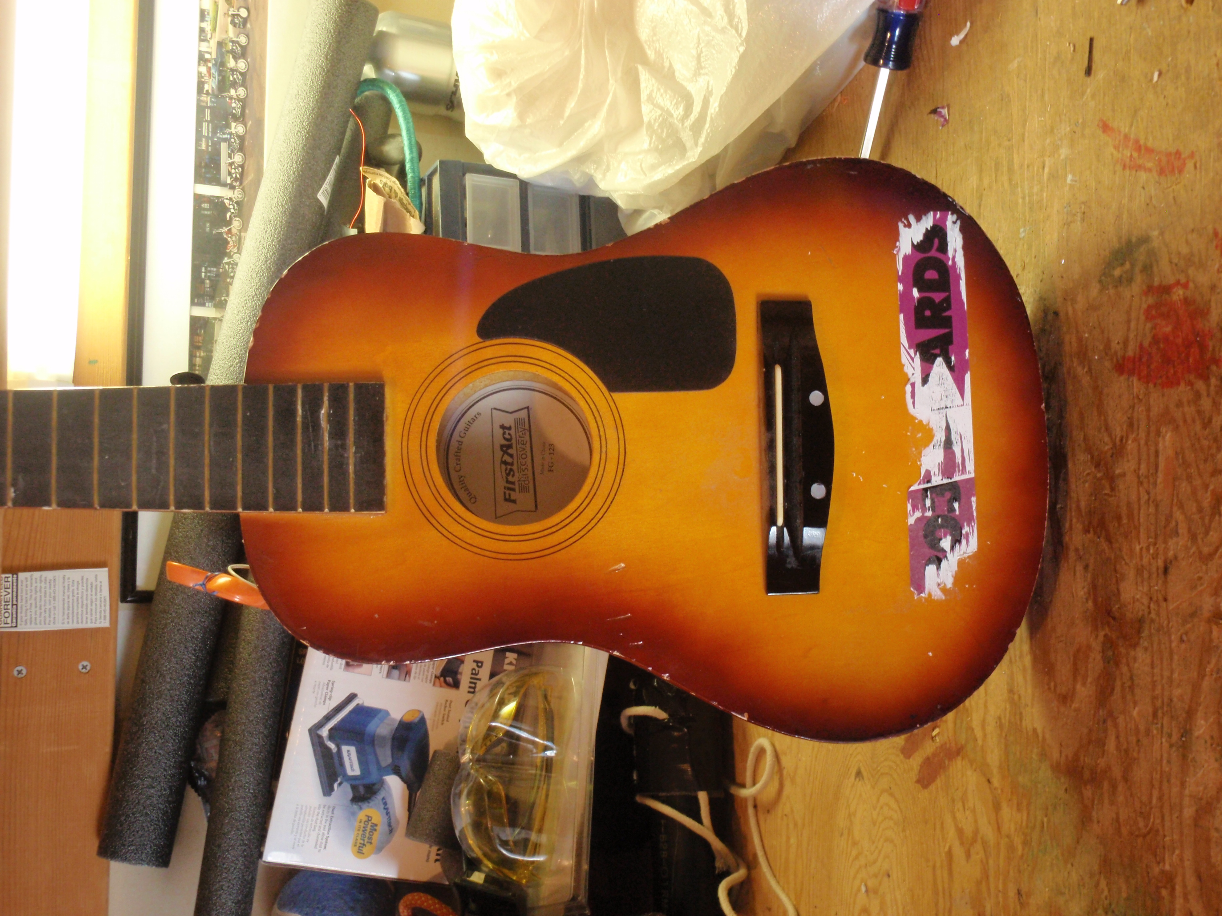 Picture of The Guitar Itself