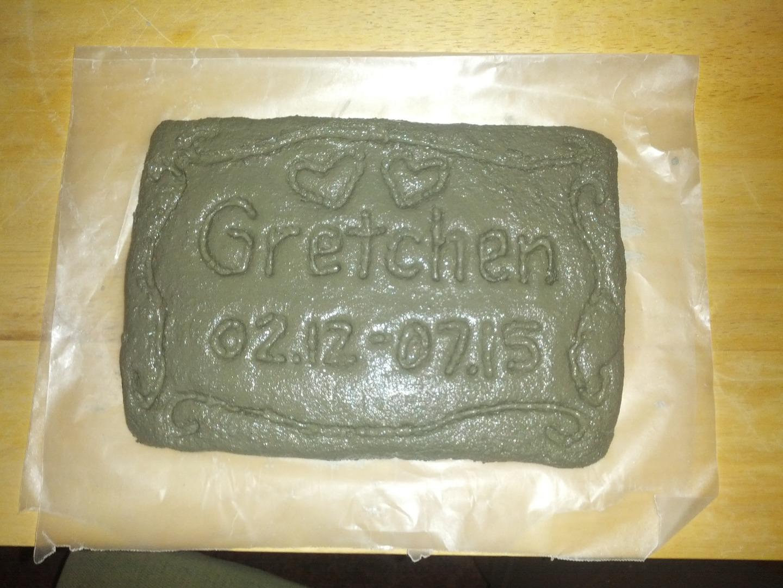 Picture of ShapeCrete Pet Grave Marker