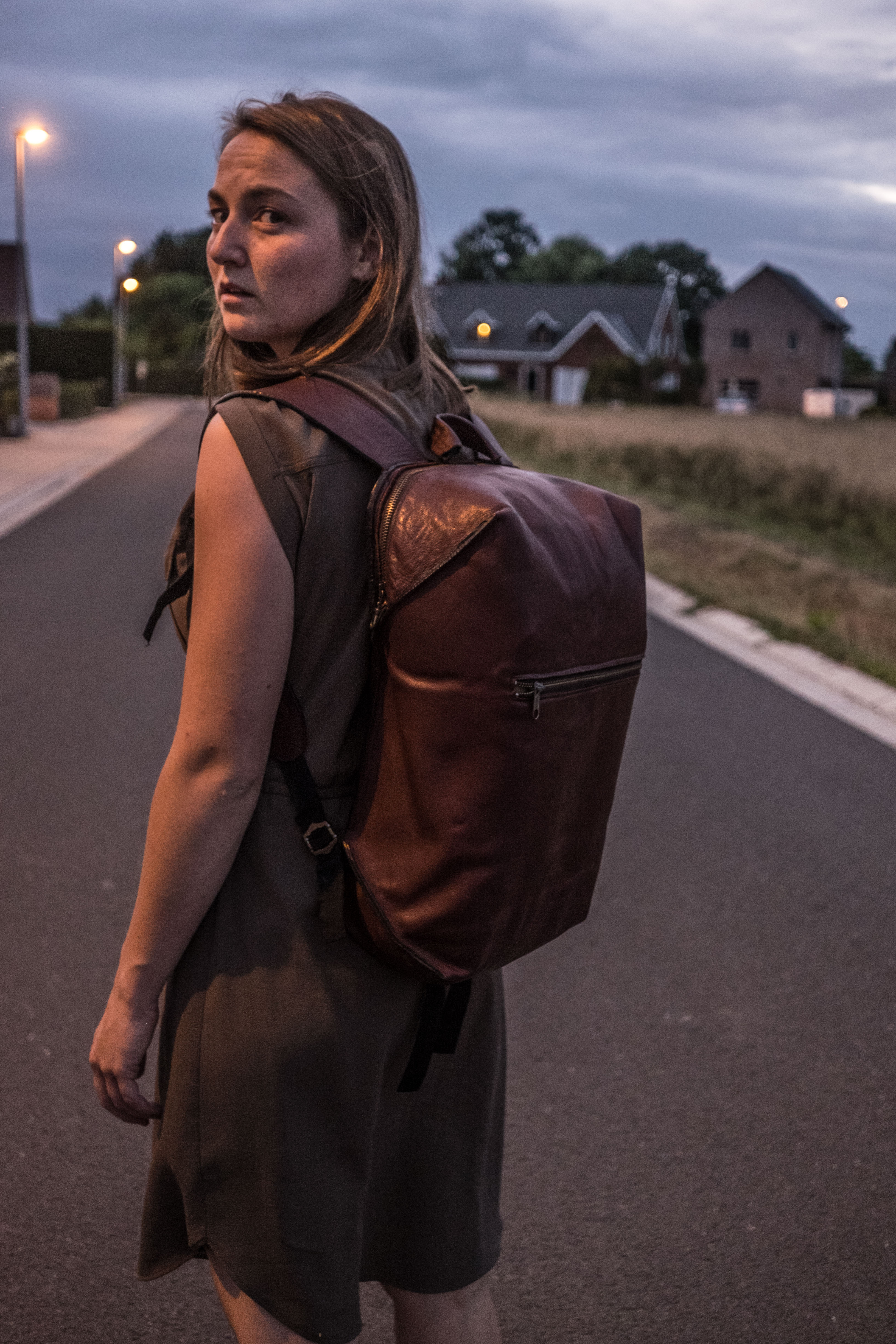 Picture of Leather Modern Backpack