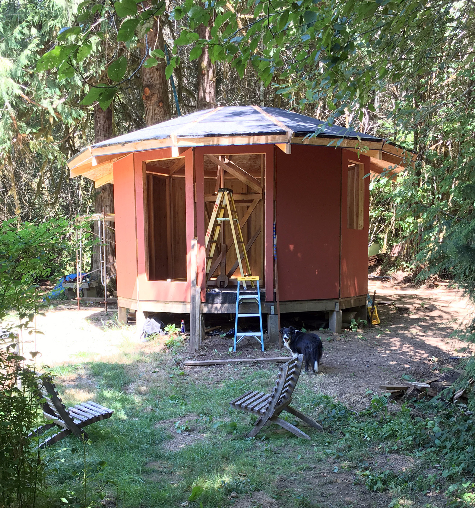Picture of Building a Wood-Framed Panelized Yurt