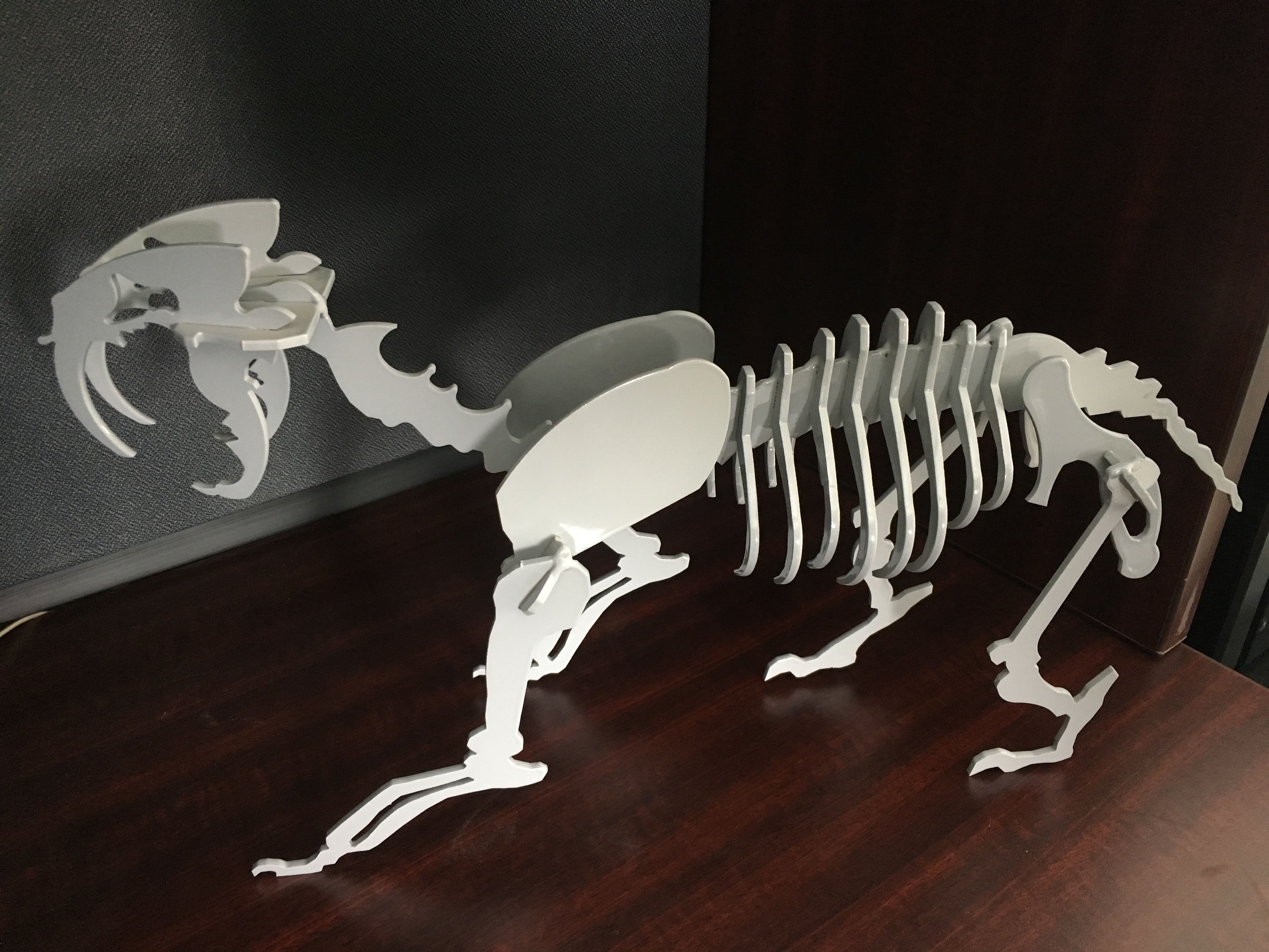 Picture of Aluminum Saber Skeleton Mini Model