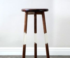 """Building a """"Floating"""" Bar Stool"""