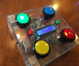 Arduino Fastest Reaction Time Game for 1-4 Players