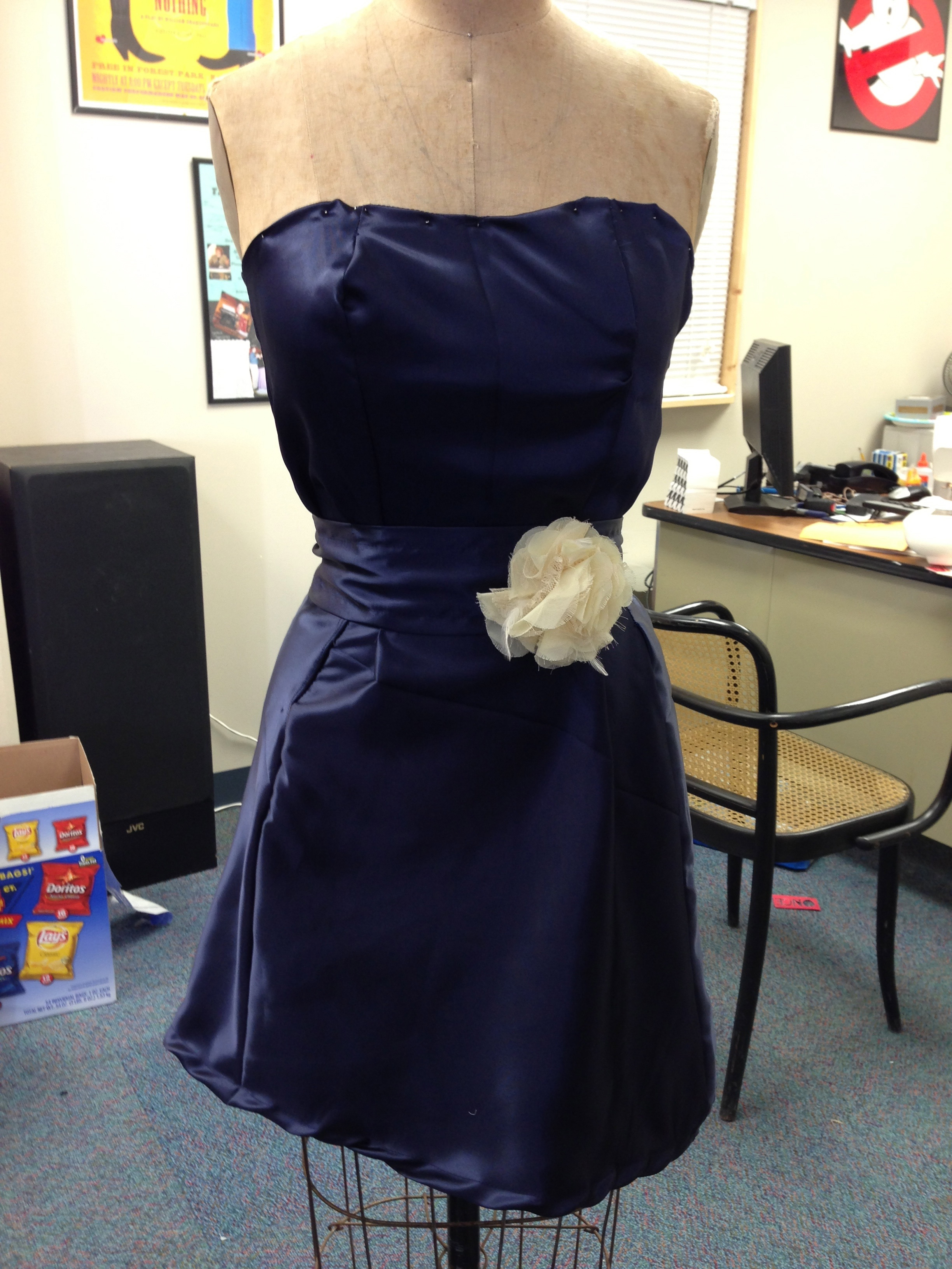 Picture of Fancy Strapless Dress