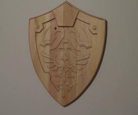 Wooden Link's Shield from Zelda