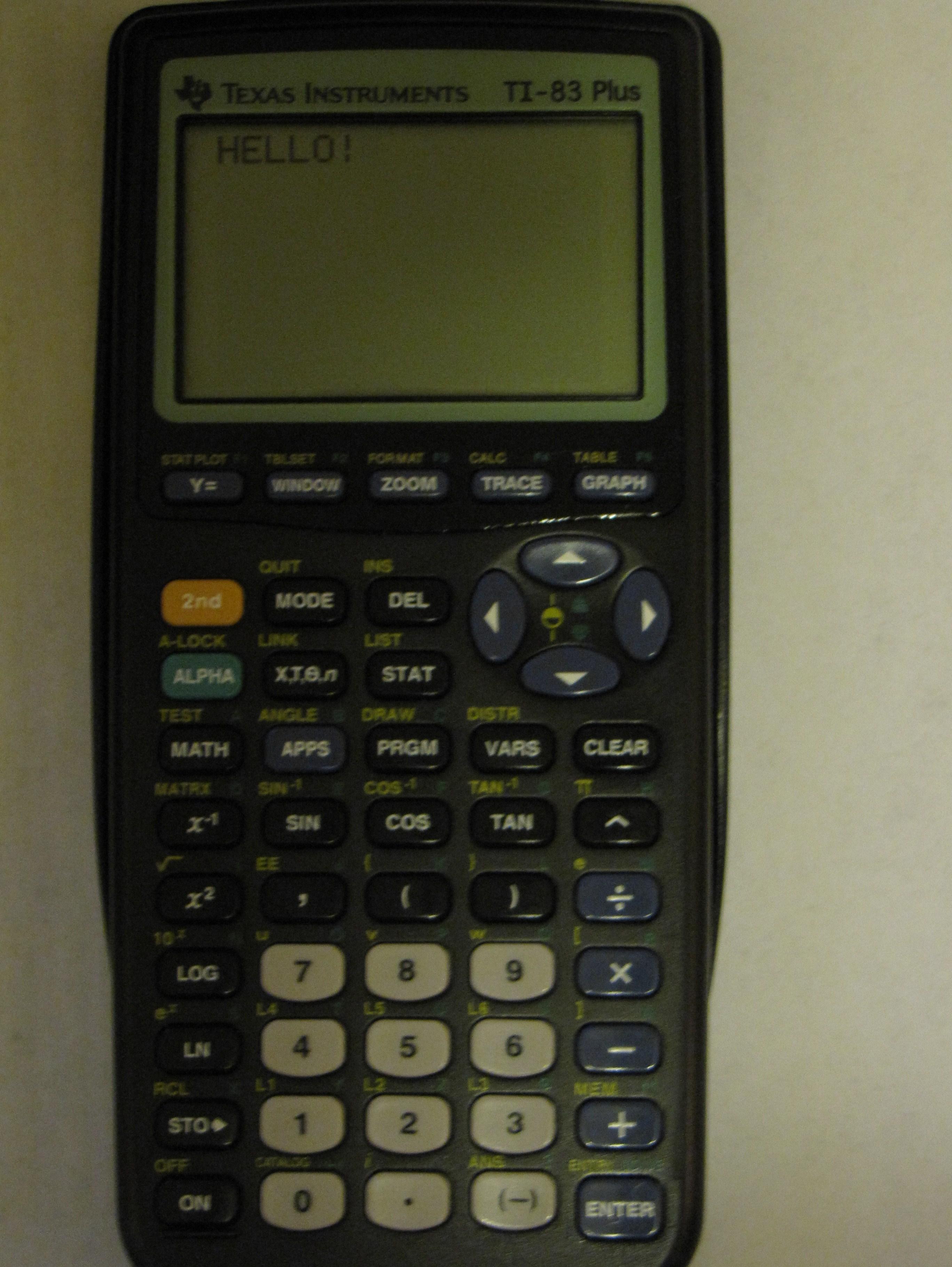 Quadratic Formula for the TI-83 and 84: 4 Steps