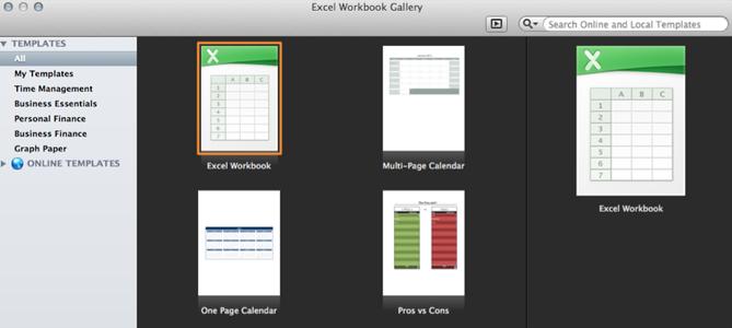 Preparing the Spreadsheet