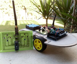 1KM Range Remote Controlled Car