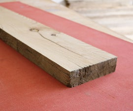 How to Flatten Boards With Just a Planer