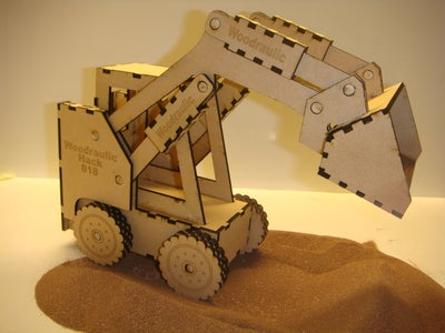 The Wooden Bobcat Toy