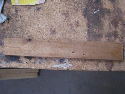 Step 1: Cutting the Wood.