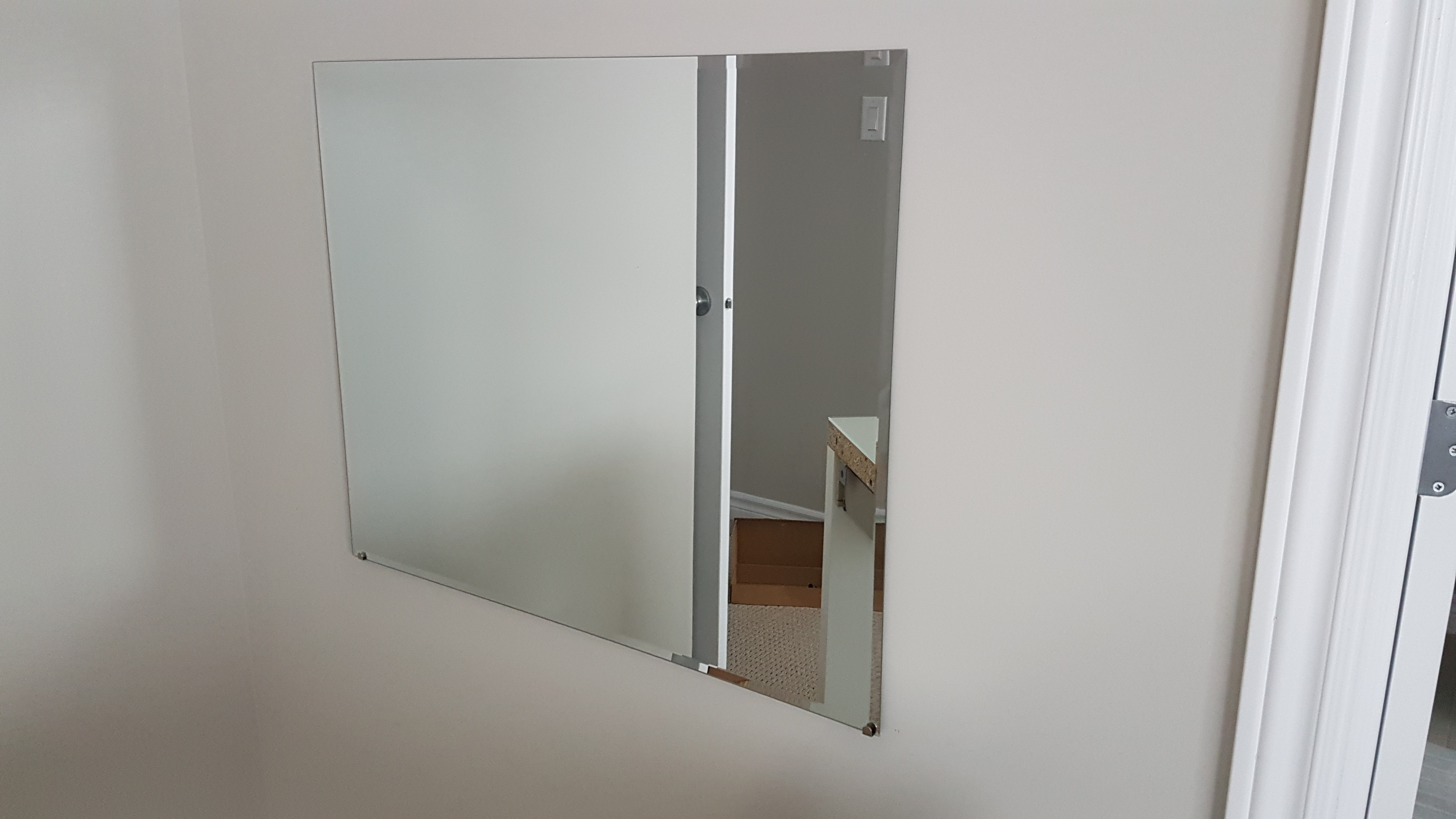 Picture of Take the Measurements and Mount That Mirror!