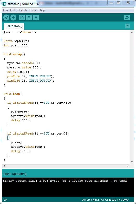 Picture of Programming the Arduino Nano
