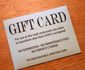 Universal Gift Card