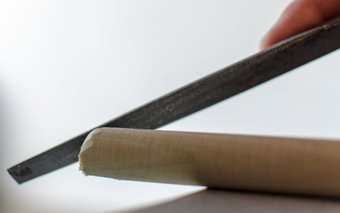 Cut Dowels to 5-ft Length