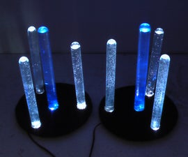 LED Lamp with Test Tube