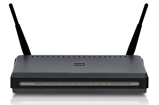 Picture of D-Link Wireless Router DIR-628 Setup [Without CD]