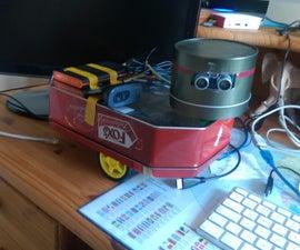 Raspberry Pi Web Controlled / Autonomous Robot