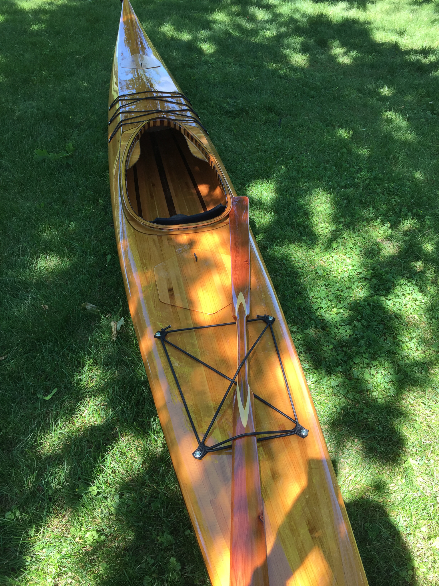 Picture of Fit Deck Lines, Hatches, Foot Pegs, Seat