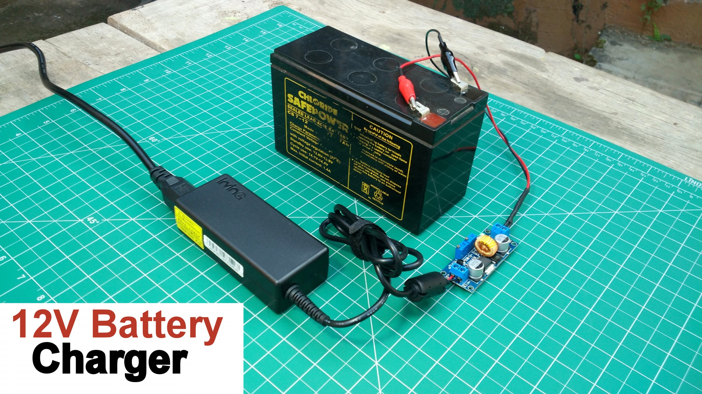 How to Make a 12v Battery Charger : 5 Steps (with Pictures