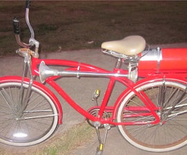 Bicycle Air-Horn / Fire Extinguisher Air-Horn