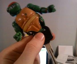 ninja turtle car key